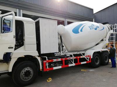 4 Aimix Автобетоносмесителей отгрузили на Узбекистан