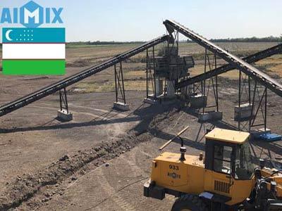 Aimix Дробильно-сортировочный комплекс 250Т в Узбекистане
