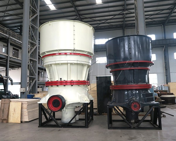 Cone-crusher-with-single-hydraulic-cylinder