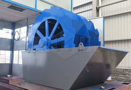 Xs series wheel type sand washer