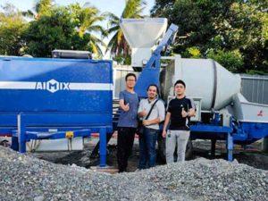 Aimix Бетоносмесительный насос в Филиппины