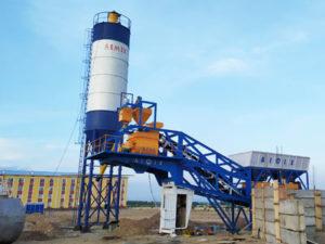 Мобильный бетонный завод AJY35