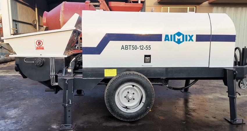 Aimix Стационарный Электрический бетононасос