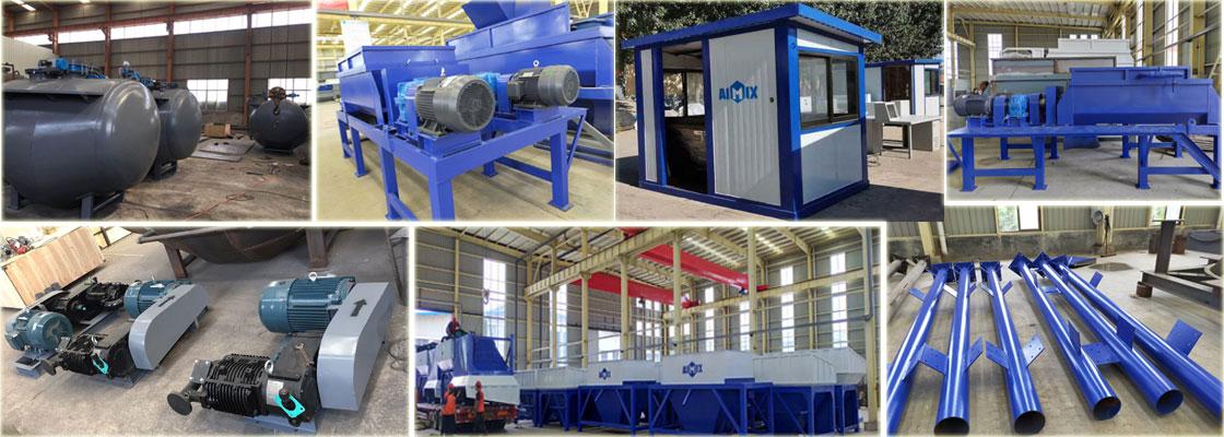 смесительный завод для стабилизированного грунта
