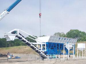 Смесительный завод для стабилизированного грунта в Казахстане