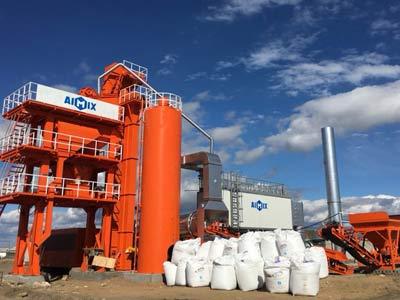 Aimix ALYQ80 Асфальтобетонный завод в России
