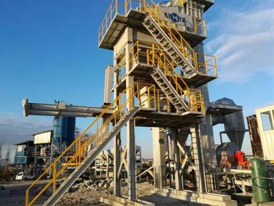 Aimix 60Т/ч Асфальтный завод в Таджикистане