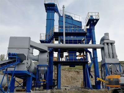 Aimix ALQ80 Асфальтный завод в Киргизии