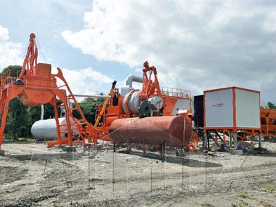 Aimix ALYQ60 Асфальтный завод в Филиппины