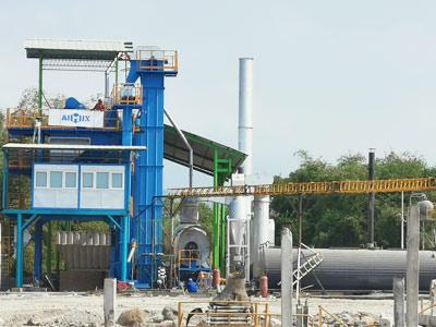 Aimix Асфальтобетонный завод в Индонезии