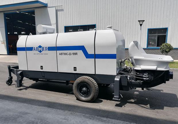 Aimix Стационарный бетононасос 90