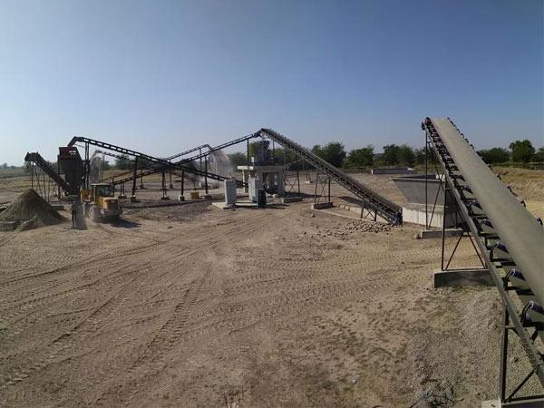 Aimix Дробильно-сортировочный комплекс 250 Т в Узбекистане
