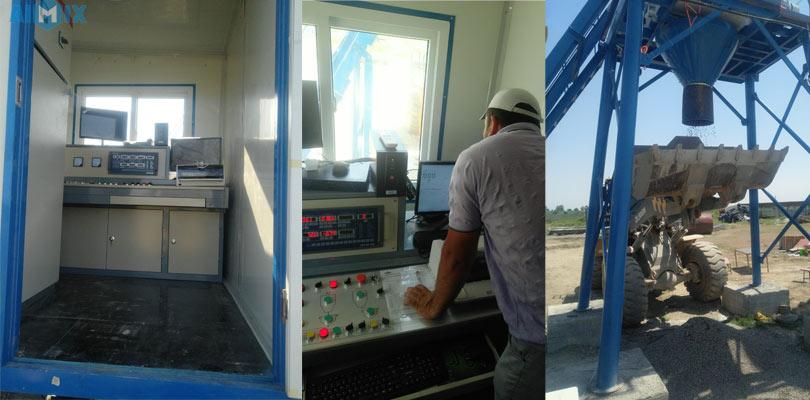 Aimix Бетонный завод AJ35