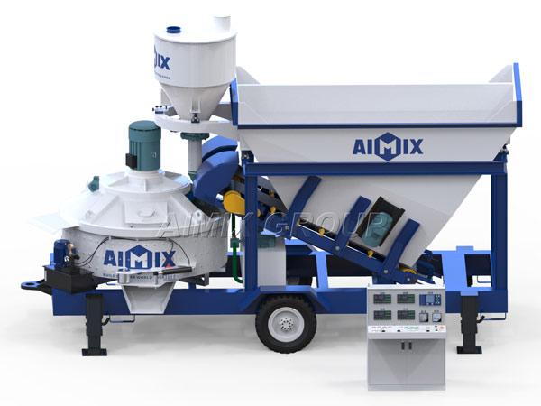 Aimix Новый бетонный завод