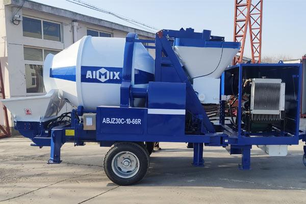 Aimix Бетоносмесительный насос ABJZ30C