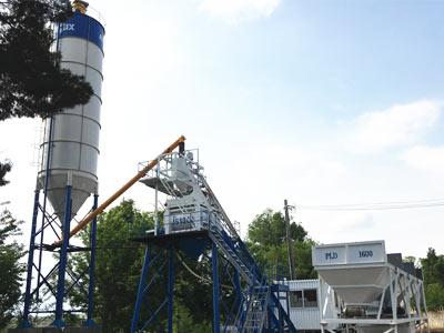 Aimix Стационарный Бетонный завод в Узбекистане